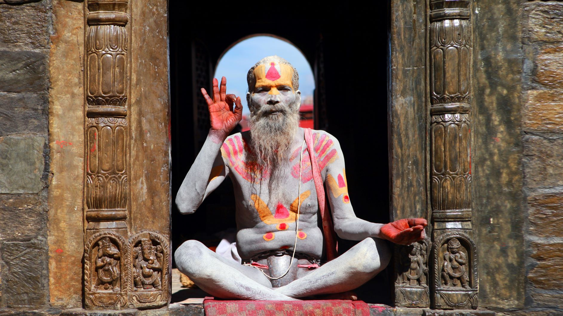 Yogi in Indien